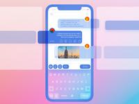 Cristal Clear IphoneX Chat