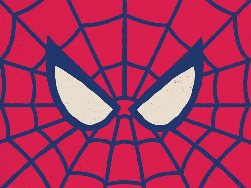 Spooder-Man avengers superhero marvelcomics marvel texture vector illustration spider-man spiderman