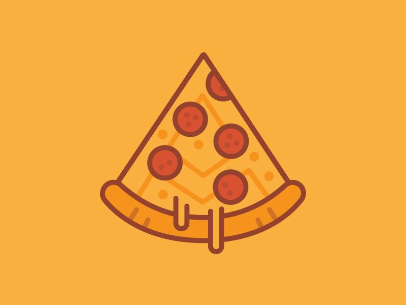 Apex Za stroke pizza icon design mark branding emblem illustration texture vector identity typography logo