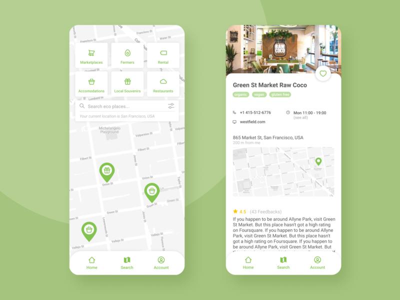 Concept for eco app