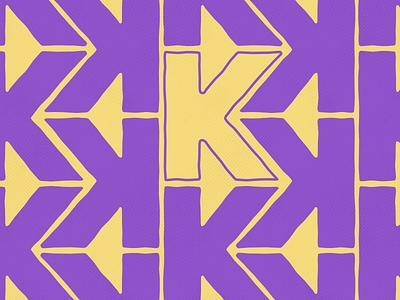 #Typehue: K typography k letter typehue