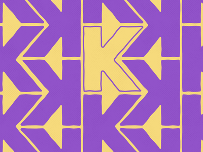 K by Jack Scorey via dribbble