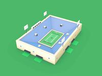 Football Field | 3D