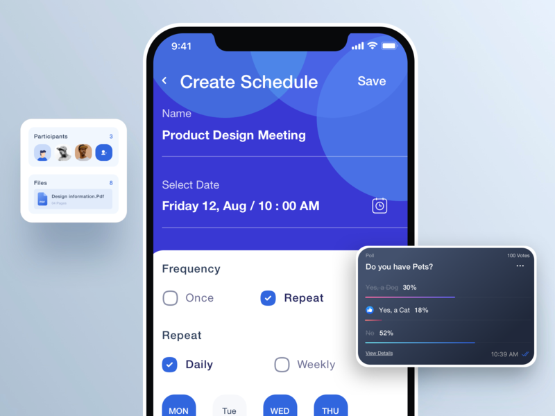 Create Schedule icons schedule contact typography vector communications illustration ui  ux design visual design dribbble visual design