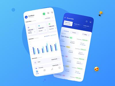 SME Neo Banking App sme finance fintech typography ux vector branding illustration ui  ux design visual design dribbble design visual