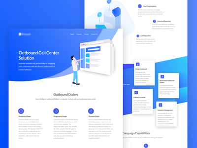 Outbound Thumb dribbble visual design ux