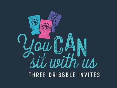 3 Dribbble Invites!