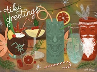 Tiki Greetings