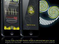 Alton Towers App Advertising