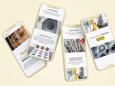 Seeana Eyewear photography branding webdesign identity