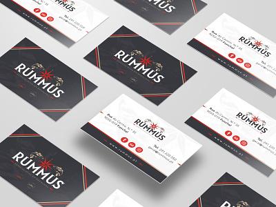 Rummus visual identity logodesign identity branding