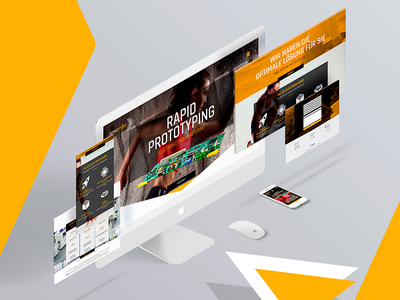 emsproto landing page website webdesign landingpage