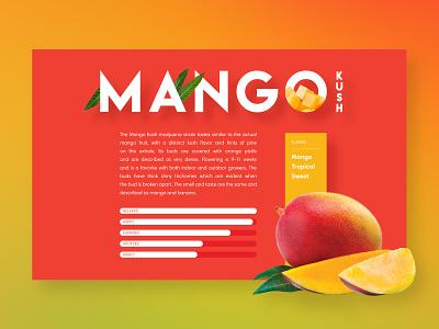 Mango Kush mango fruit cannabis
