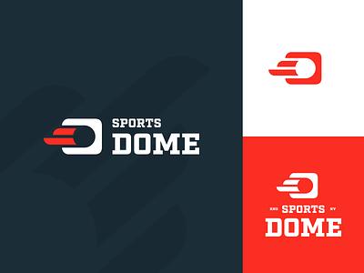 Sports Dome Logo vector typography mark logos identity branding brand logo sports