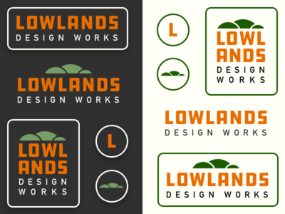Lowlands identity sketches