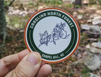 Carolina North Forest sticker