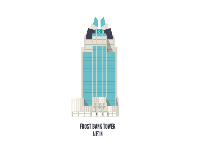 Frost Bank Tower austin sxsw flat building architecture texas