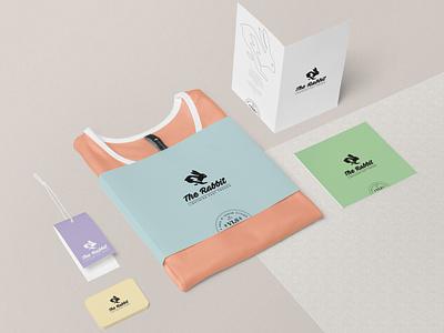 The Rabbit - Lightning Fast Trends rabbit rabbit logo merchandise design t-shirt branding t-shirt graphic t-shirt design t-shirt branding log merchandising