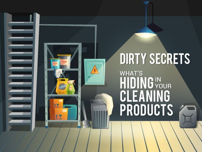 Cleaning Products Infographic