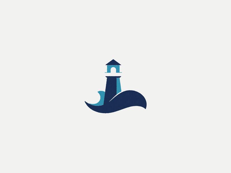 Lighthouse Redux lighthouse logo icon sea blue ocean