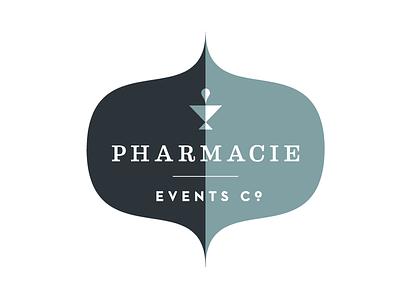 More Brand Explorations pharmacy brand crest pestle mortar logo house neutraface eames retro modern