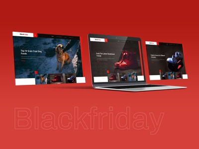 Banner Design eccomerce shoppin typo design godigital webdesign mockup red black images bannerlayouts gradients productdesign sale offer blackfriday