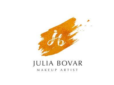 Makeup artist logotype