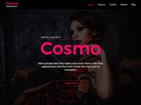 Cosmo — Model Agency Template