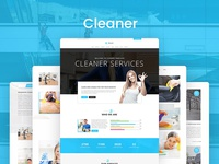Cleaner — Cleaning Services HTML5 Template