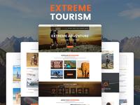 Extreme Tourism – Tourism & Adventure HTML5 Template