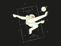 Astro footballer