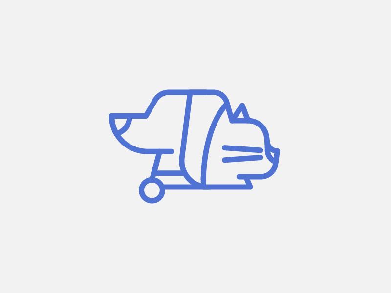 Dog & Cat ui pet animals icon factory icon design iconutopia flat icon cat dog