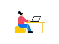 Illo Desk WIP