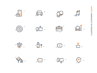 Classified Ads Categories Iconset