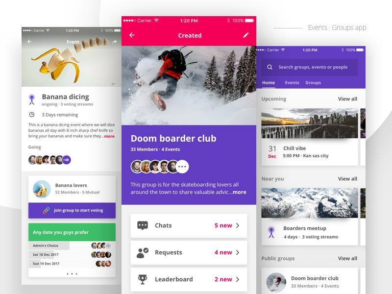 Events App Ui Ux