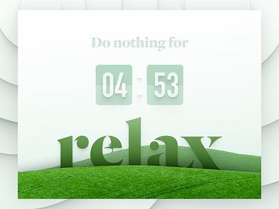Meditation Timer bitch yoga counter data peace website widget time ui relax