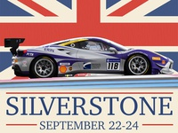 EMS Race Team Silverstone Graphic