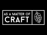 As A Matter of Craft Logo