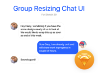 Group Resizing - Sketch 39