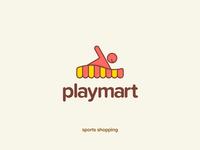 Play Mart Logo Concept