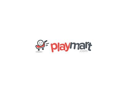 Play Mart Logo Concept design concept logo
