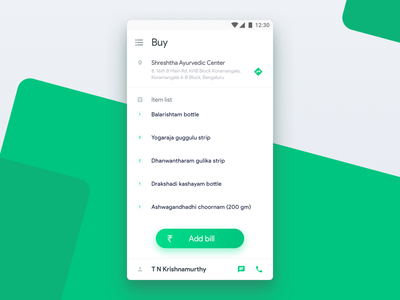 Shop From Local Store (English Version) application ios dunzo sketch ux design ux ui design ui shopping list interface interaction design app android