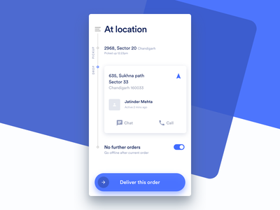 Deliver At Location dunzo sketch delivery android ios interaction interface design app
