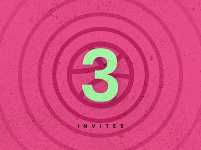 Dribbble Invite artist product design product ux ui illustrator invite dribble invite dribbble