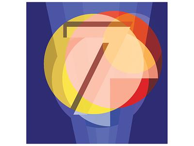 seven design illustration