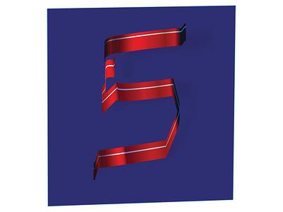five illustration design