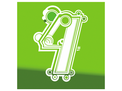 four illustration design