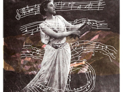 Goddess goddess collage photo music