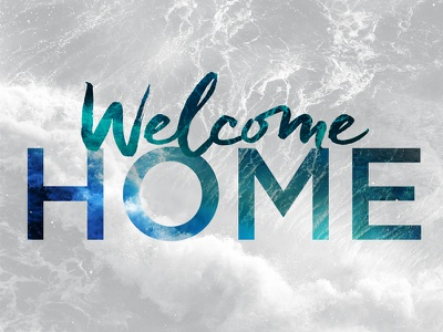 Welcome Home welcome home water home logo