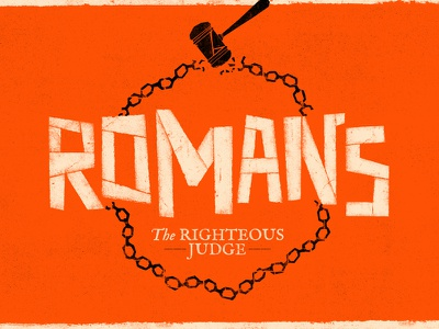 The Book Of Romans saul bass sermon branding sermon series illustration texture sermon church branding